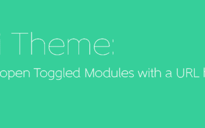 Divi Theme: How to open Toggle with a link
